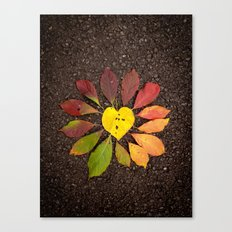 Leaf Love No.3 Canvas Print