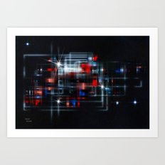 Space Station Art Print