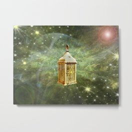Light in the Cosmos Metal Print