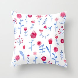 Hayfever Throw Pillow
