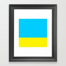 Sea & Sun Framed Art Print