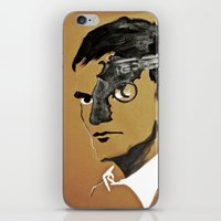 quentin tarantino iPhone & iPod Skins featuring Quentin by Gabby Grife | GuinArt