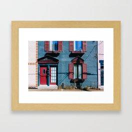 Le Plateau Mont Royal - Montreal, Canada - #3 Framed Art Print