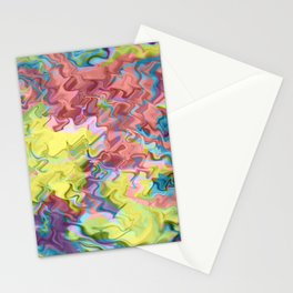 Lost in Thought; Fluid Abstract 56 Stationery Cards