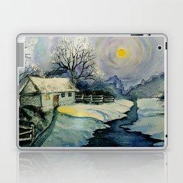 Winter, watercolor Laptop & iPad Skin