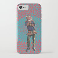 david fleck iPhone & iPod Cases featuring David by Computarded