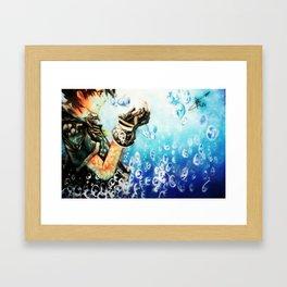 Kingdom Hearts _ Sora  Framed Art Print