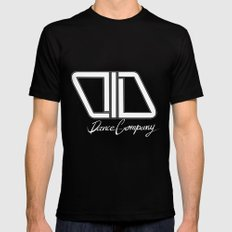 C.I.D WHITE Black SMALL Mens Fitted Tee