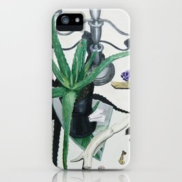 Healing Aloe Flora Spell iPhone Case
