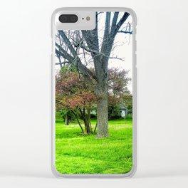 Scenic Rural Clear iPhone Case