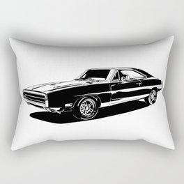 A. M. 2 Rectangular Pillow
