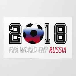 Fifa Wold Cup 2018 Rug