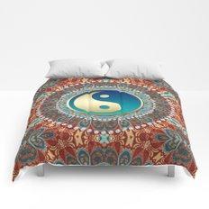 Bohemian Batik Yin Yang Comforters