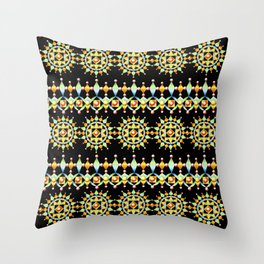 Bijoux Sunburst Stripe Throw Pillow