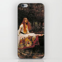 The Lady of Shalott iPhone Skin