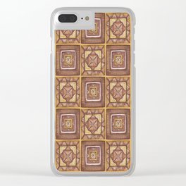 Earth Art: Stack of Cushions in the Square Clear iPhone Case