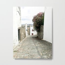 Cobblestone Road Metal Print