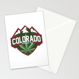 Colorado weed love you Stationery Cards
