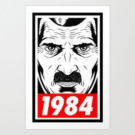 OBEY 1984 Art Print