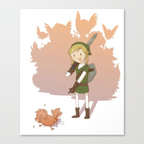 Link - Chicken Canvas Print
