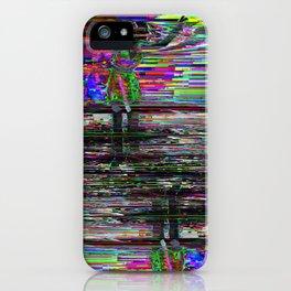 Glitch 10 iPhone Case