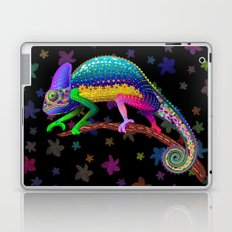Chameleon Fantasy Rainbow Colors Laptop & iPad Skin