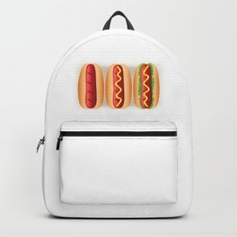 Hot Dog Sandwiches Backpack