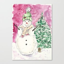 Bundled Up Canvas Print