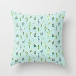 Cactus Practice Throw Pillow