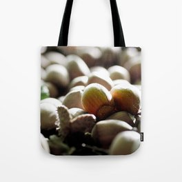 Hazelnuts in the forest Tote Bag