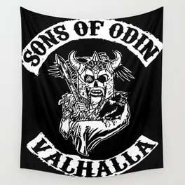 Sons of Odin Vikings Inspired Wall Tapestry