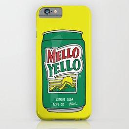 Mello Yello iPhone Case