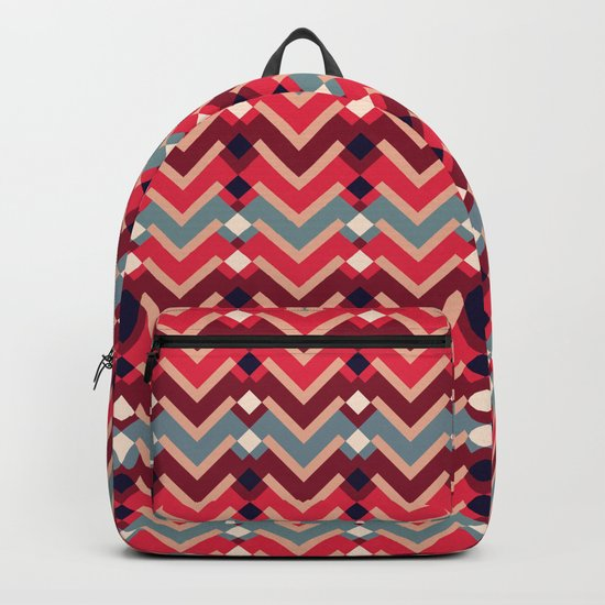 Fractal Mountains - candy Backpack