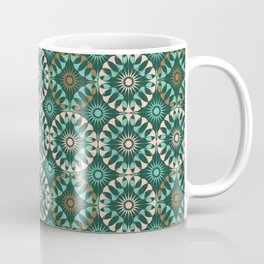 ST Entwined: Teal-Pink-Bronze Coffee Mug