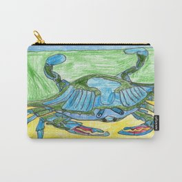 Blue Crusher Carry-All Pouch