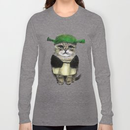 Shreky Cat Long Sleeve T-shirt