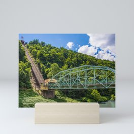 Johnstown, PA Inclined Plane Mini Art Print