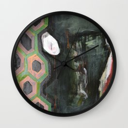 Heads Wall Clock