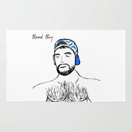 Beard Boy: Claude Rug