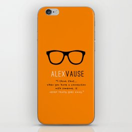 Alex Vause Connection #2 | OITNB iPhone Skin