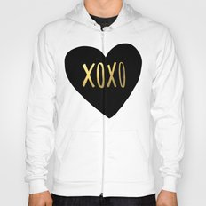 XOXO x Gold Hoody