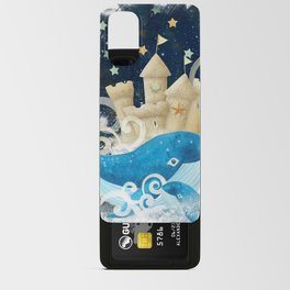 Sandcastle Waves Whales Android Card Case