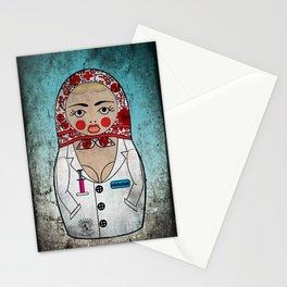 Dirty Nurse Matryoshka/Nesting Doll Stationery Cards