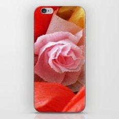 Paper handmade flowers iPhone & iPod Skin