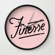 Finesse Wall Clock