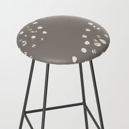 Dappled Hide in Taupe Bar Stool