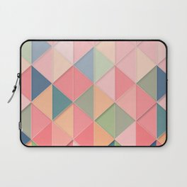 Triangular Abstract Background 2 Laptop Sleeve