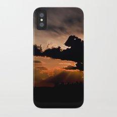 summer sunset iPhone X Slim Case