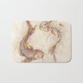 Yin Yang Fish Bath Mat