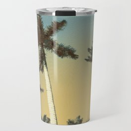 Palms and clear skies Travel Mug